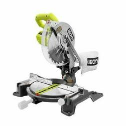 "Ryobi 10"" Compound Miter Saw with Laser Line TS1345L Recondi"