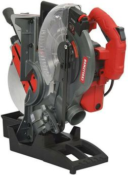 CRAFTSMAN 10-in 15-Amp Single-Bevel Laser Compound Miter Saw