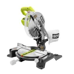RYOBI 10In Electric Corded Compound Miter Saw Best Table Woo