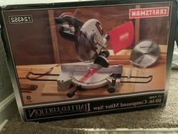 Craftsman 10-Inch Compound Miter Saw 15 Amp Limited Edition