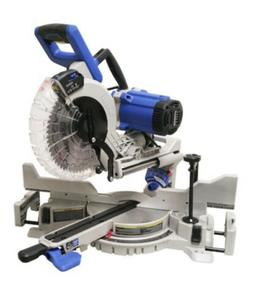 Kobalt 10 Inch Double Bevel Sliding Compound Miter Saw With