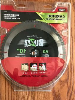 "Mibro 10"" Miter Saw Blade 60 T Fine Finishing Carbide blade"