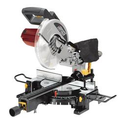 "10"" Sliding Compound Miter Saw 15 Amp. Motor, Make Cross Bev"