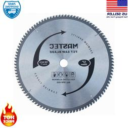 100-Tooth 12 -Inch Crosscutting Tungsten Carbide Miter Saw B