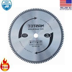 100-Tooth 12 -Inch Crosscutting Tungsten Carbide Miter Saw B