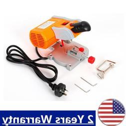 110V Mini Bench Cut-off 45° Miter Saw Cutter Wood Metal pla