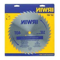 "IRWIN 11170 10"",40-Teeth Circular Saw Blade,Steel"