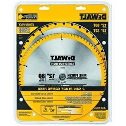 12 Carbide Saw Blade Combo Pack