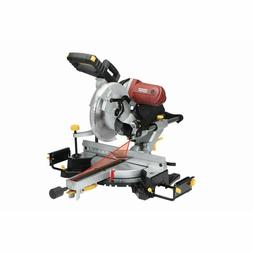 "12"" Double-Bevel Sliding Compound Miter Saw w/Laser Guide Sy"