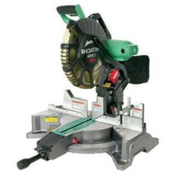 Hitachi 12-in 15-Amp Dual Bevel Laser Compound Miter Saw Pow