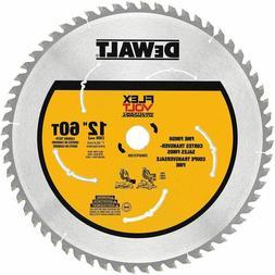 DEWALT 12 in 60 Teeth Circular Miter Saw Blade Woodworking C