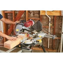 12 in. Double-Bevel Sliding Compound Miter Saw With Laser Gu