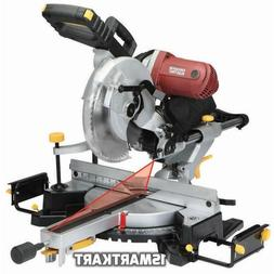 "12"" In Double-Bevel Sliding Compound Miter Saw With Laser Gu"