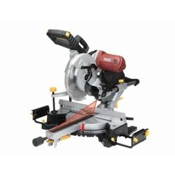 """12"""" In Double-Bevel Sliding Compound Miter Saw With Laser Gu"""