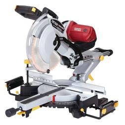 12 In. Dual-Bevel Sliding Compound Miter Saw With Laser Guid
