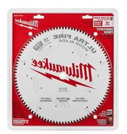 Milwaukee 12 inch 100 Teeth Fine Finish Circular Saw Blade W