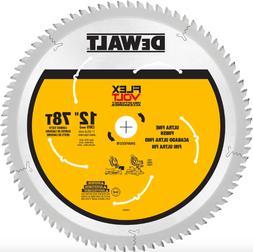 Dewalt 12 inch 78 Teeth Carbide Miter Circular Saw Blade Woo