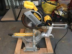 dewalt 12 sliding compound miter saw