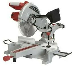 """Chicago Electric 12"""" Sliding Compound Miter Saw built-in las"""