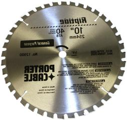 PORTER-CABLE 12900 Riptide 10-Inch 40 Tooth ATB Thin Kerf Ge