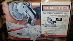 CRAFTSMAN 12in INCH MITER SAW  Compound Laser Guided 15A NEW