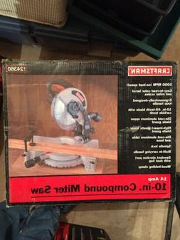Craftsman 14 Amp 10 Inch Compound Miter Saw 24360