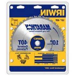 "Irwin 14070 Marathon Carbide Tipped Circular Saw Blade-10"" 4"