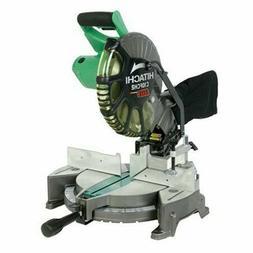 Hitachi 15-Amp 10-Inch Laser Compound Miter Saw, C10FCH2 New