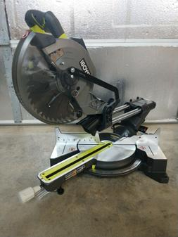 """Ryobi 15 Amp 10"""" Sliding Compound Miter Saw Model# TSS103"""