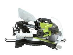 Ryobi 15-Amp Motor  10 in. Sliding Miter Saw with Adjustable