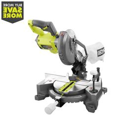 18-Volt ONE+ Cordless 7-1/4 in. Compound Miter Saw  with Bla