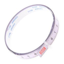1M Self Adhesive Tape Measure, Metric Miter Saw Steel Ruler