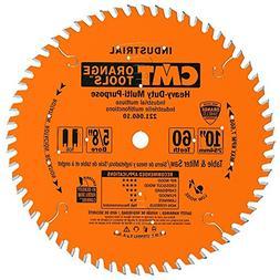 "CMT 221.060.10 Industrial Multi-Purpose 10"" Tablesaw Blade,"