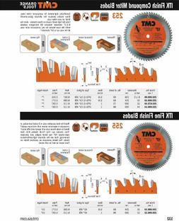 CMT 255.096.12 ITK Industrial Fine Finish Saw Blade, 12-Inch