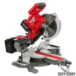 "Milwaukee 2734-21HD M18 FUEL 10"" Miter Saw Kit New"