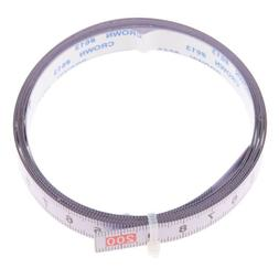 2M Self Adhesive Tape Measure, Metric Miter Saw Steel Ruler