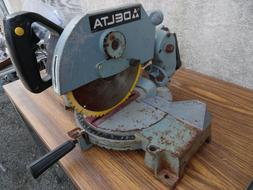 "Delta 36-220 vintage 10"" Portable Compound Miter Saw 15 Amp"