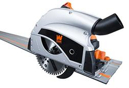 WEN 36055 9-Amp Plunge Cut Circular Track Saw with Two 27.5-