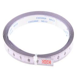3yd Self Adhesive Tape Measure, Metric Miter Saw Steel Ruler