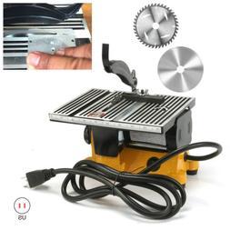 "4"" Mini Table Top Cut Off Miter Saw For Precision Cut Metal"