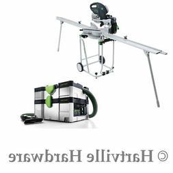 Festool 561287 KAPEX KS 120 Miter Saw w/ Imperial Set and CT