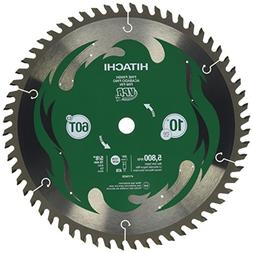 Hitachi 10 in. 60-Tooth Fine Finish VPR Blade 115435 new