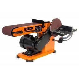 WEN 6500 4 x 36-Inch Belt and 6-Inch Disc Sander with Steel