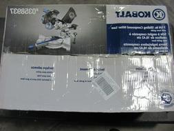 Kobalt 7-1/4-in  blade 9-Amp Bevel Sliding Laser Compound Mi