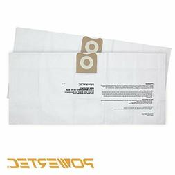POWERTEC 75002 High Efficiency Filter Bags for Ridgid Wet/Dr