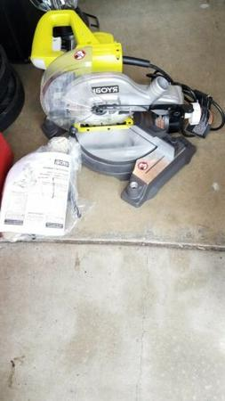 Ryobi 9 A 7-1/4 in. Miter Saw with EXACTLINE Laser TS1143L R