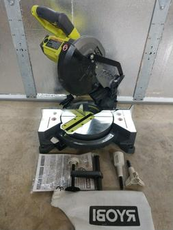 "RYOBI 9 Amp 7 1/4"" Compound Miter Saw Model# TS1144"
