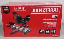 Craftsman 7-1/4-in 20-Volt Max Single Level Sliding Compoun