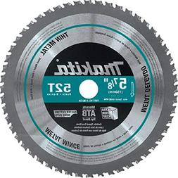Makita A-96104 52T Thin Metal Carbide-Tipped Saw Blade, 5-7/