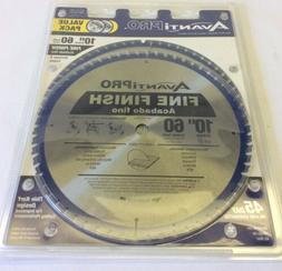 "Avanti Pro Circular Saw Blade 10"" 60 Teeth Fine Finish Mit"